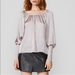 Bailey 44 Off The Shoulder Long Sleeve Blouse